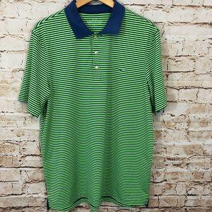 Vineyard Vines Stripe Performance Polo Golf shirt